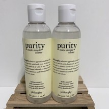 Philosophy Lot of 2 Purity Made Simple Hydra Essence Coconut Water Sealed New - $35.53