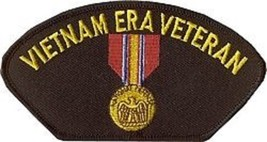VIETNAM ERA VETERAN NATIONAL DEFENSE MILITARY EMBROIDERED PATCH - $15.33
