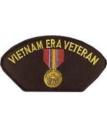 VIETNAM ERA VETERAN NATIONAL DEFENSE MILITARY EMBROIDERED PATCH - $15.33