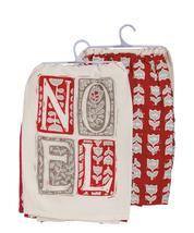 NOEL Christmas Tea Towels, Set of 2 - $26.00