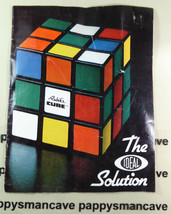 Vintage 1981~RUBIK'S CUBE~ The Ideal Solution ~ Puzzle~ Ideal Toy Corp g... - $11.39