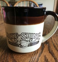 1984 Hardee's Rise and Shine Homemade Biscuits Coffee Mug - NICE - se - $9.03