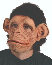 Monkey Mask Chimp Primate Animal Movable Mouth Halloween Costume Party M... - $83.51 CAD