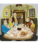 Vintage ROYAL Doulton 1972 Christmas in England John Beswick Plate 1st E... - $9.85