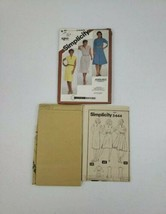 Simplicity 5444 Misses' Pullover Dress Pattern Slim or Flared Skirt Sz 1... - $5.27