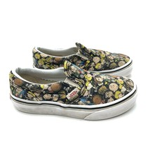 Peanuts VANS Slip-on Charlie Brown Low-top Sneakers (Youth Sz 13) NICE COND - $40.05