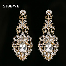 Fashion Jewelry Dangle Earrings Gold Silver Colors Wedding Accessories - $8.76