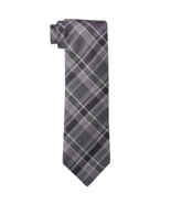 Calvin Klein Purple Multi Schoolboy Plaid Necktie. MSRP $65 - €16,82 EUR