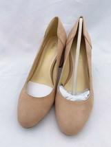 Nib Nine West Adelineo Women's Shoes Pink Sued Pump - $49.99