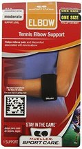 Mueller Sport Care Tennis Elbow Support One Size Black 819 1 EA - Buy Packs and  - $23.99