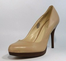 Nine West Kristal women's platform heel leather upper classic size 7.5M - $24.74