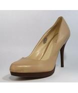 Nine West Kristal women's platform heel leather upper classic size 7.5M - $24.74