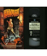 DOC SAVAGE THE MAN OF BRONZE VHS PAMELA HENSLEY RON ELY WARNER VIDEO TESTED - $9.95