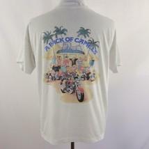 Vintage 1990 Camel Cigarettes Joe Camel Pack of Camels Graphic T Shirt M... - $57.95