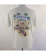 Vintage 1990 Camel Cigarettes Joe Camel Pack of Camels Graphic T Shirt M... - $57.95