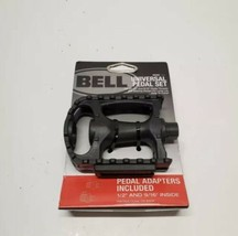 "Bell Sports Universal Bike Pedal Set - Black -  Fits 1/2"" & 9/16"" - $11.75"