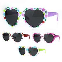 Girls Kids Size Heart Shape Plastic Sunglasses - $9.95