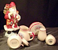 anta and 5 Piece Winter Wishes Table Set AA19-CD0052 Vintage image 6