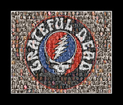 Grateful Dead Mosaic Print Art  - $24.99+