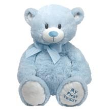 "Pyoopeo Original Ty Pluffies 15"" 38cm Sweet Baby Blue Bear Plush Medium ... - $30.40"