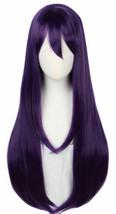 For Cosplay Yuri Wig Long Purple Halloween Cosplay Costume Women - $21.77