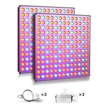 LED Grow Lights, 75w Plant Lights with Red & Blue Spectrum Grow lamp (2P... - $118.88