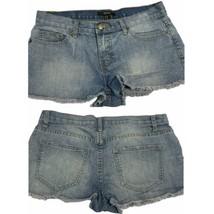 "Forever 21 Womens Sz 28 Blue Jean Denim Shorts Cut Offs 1.5""L - $14.03"