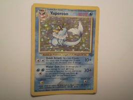 Pokemon Card - Vaporeon - (12/64) Jungle Set Rare Holo ***PL*** - $2.99