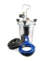 Dynamic Power Pressure Paint Tank 2.5 Gallons Pressure Pot Tank Spray Paint Pres