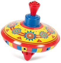 Schylling Little Tin Top Colors and Designs May Vary Toy - $9.60