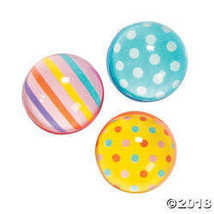 Dots & Stripes Bouncing Balls - $6.36