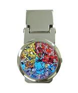 Men's Colorful Urban Graffiti Money Clip Watch - $17.99