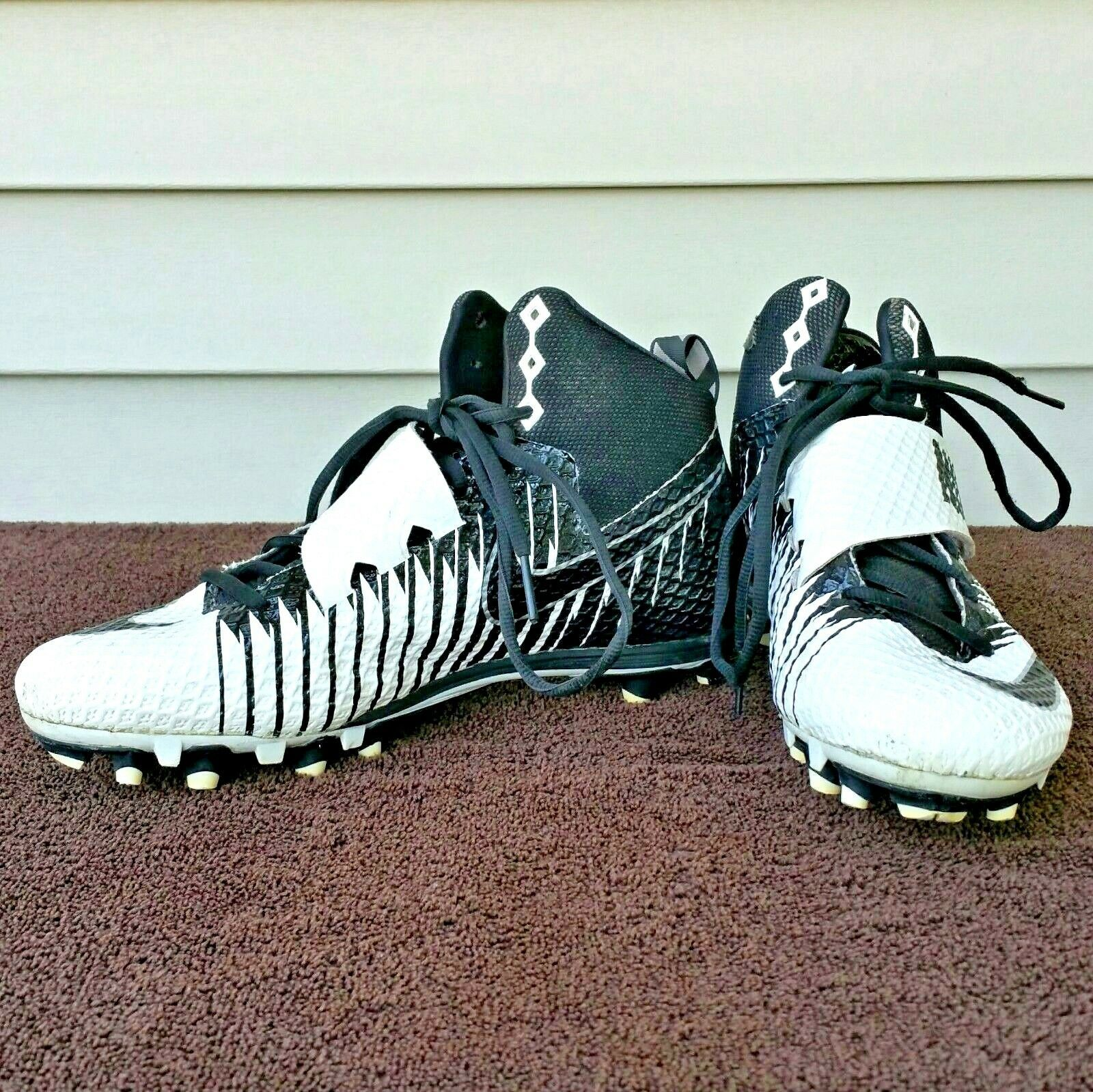 977d055b2 Nike Strike Pro High Top Black   White and 50 similar items. 57