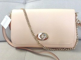 NWT Coach Signature Mini Ruby Crossbody/Shoulder Handbag IM/Apricot F34604 - $118.79