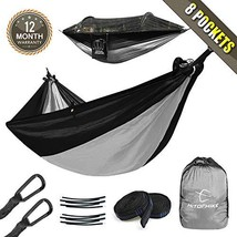 Hitorhike Camping Hammock with Mosquito Net Included Detachable Aluminum... - $29.02