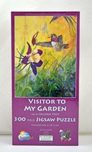 "SunsOut Visitor to My Garden Hummingbird Puzzle - 300 Pieces 18"" x 24"" New - $18.95"