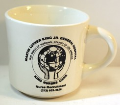 Martin Luther King JR General Hospital Nurse Mug Cup w/ 213 Phone # Pre ... - $13.28