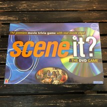 Scene It Original DVD Board Game Family Movie Trivia 2003 Mattel 1st Edi... - $26.72