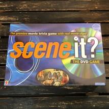 Scene It Original DVD Board Game Family Movie Trivia 2003 Mattel 1st Edition US  - $26.72