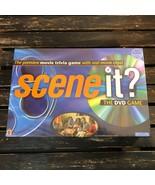 Scene It Original DVD Board Game Family Movie Trivia 2003 Mattel 1st Edi... - $26.72