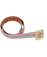 Rugby by Ralph Lauren Women Fabric/Leather Casual Belt (Brown/Blue/Pink/... - $29.95