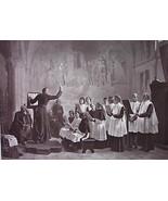 CHURCH CHOIR Practice Before Mass Callo - Original Goupil 1879 Photograph - $21.60