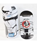 Disney Star Wars LCD Watch Storm Trooper child plastic wristwatch H35 - $27.77