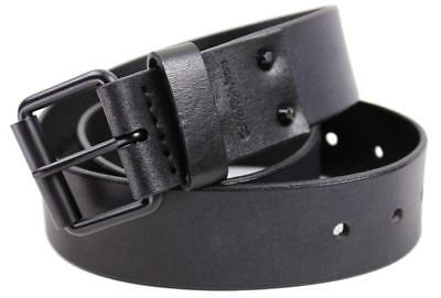 Calvin Klein Ck Men's 40Mm Classic Genuine Leather Belt Black 75239 Size 32