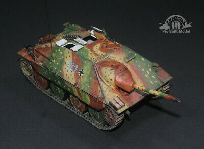 Primary image for Jagdpanzer 38 Hetzer Mid Production Waffen Grenadier 1944 1:35 Pro Built Model