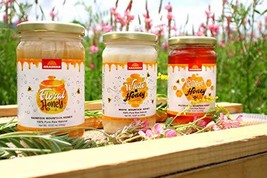Wildflower Raw Organic Sainfoin Floral Honey from Kyrgyz mountains 3-PAC... - $44.05