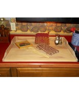 Noodle Board Stove Top Cover artificially aged - $99.00