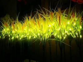 "27.6"" Golden LED wheat plant Light Christmas holiday Home patio manor lawn Decor - $197.99"