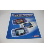 Nintendo Wal-Mart Ad Flyer Brochure Nintendo 64 Game Boy Advance Booklet... - $24.99