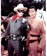 Clayton Moore The Lone Ranger And Tonto 8x10 - $14.00